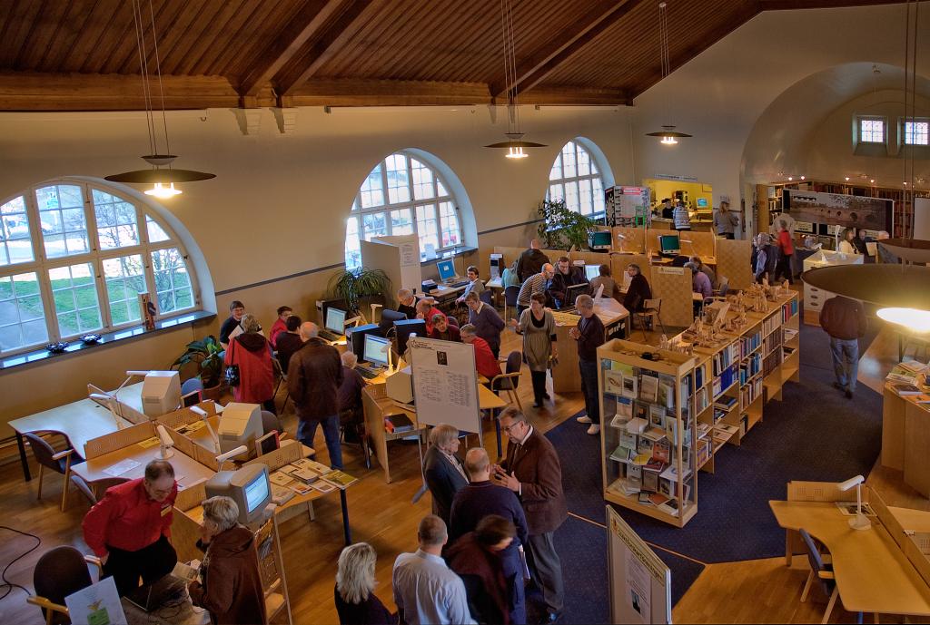 Forskarsalen Arkivcentrum Värmland